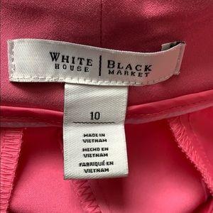 White House Black Market Pants - WHBM Petal Pink Cropped Pants